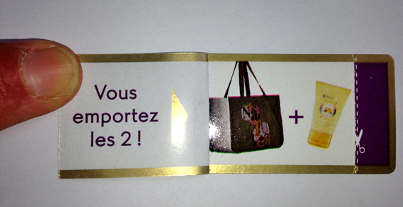 Etiquettes coupons couponing